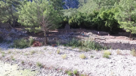 Aerial Drone Video Shooting of Olympos 2