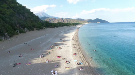 Aerial Drone Video Shooting of Olympos 7